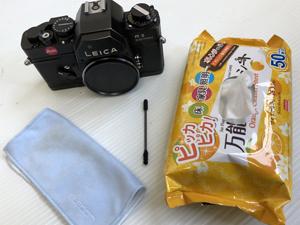 ライカ カメラ 買取前の清掃方法